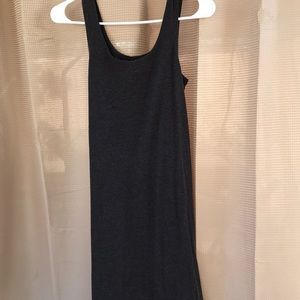 H&M Dark Gray Tank Dress